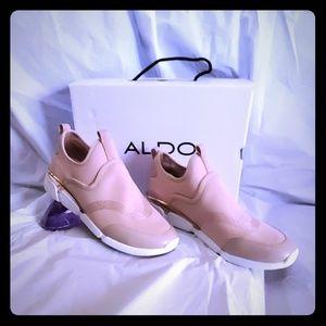 New Never Worn Aldo Slip On Sneakers Sz 8